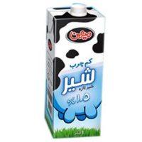 شیر کم چرب 1 لیتری میهن