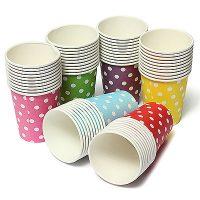 لیوان یکبار مصرف کاغذی 50 عددی
