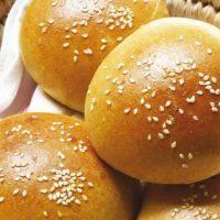 نان باگت همبرگر 3 تایی نان آوران