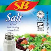 نمک خوراکی تصفیه شده یددار اس بی 300 گرم
