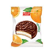 والس شکلاتی مغزدار 40 گرم پرتقالی