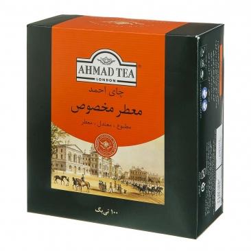 چای تی بگ معطر 100 عددی احمد 1