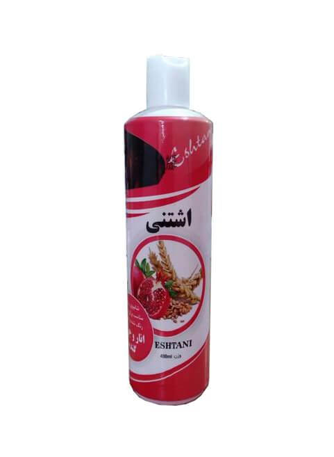 شامپو انار و جوانه گندم اشتنی ( مخصوص موهای رنگ شده و خشک)
