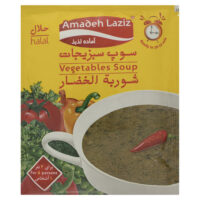 سوپ سبزیجات آماده لذیذ