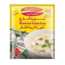 سوپ قارچ آماده لذیذ