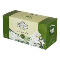 چای کیسه ای سبز یاس احمد 25 عددی