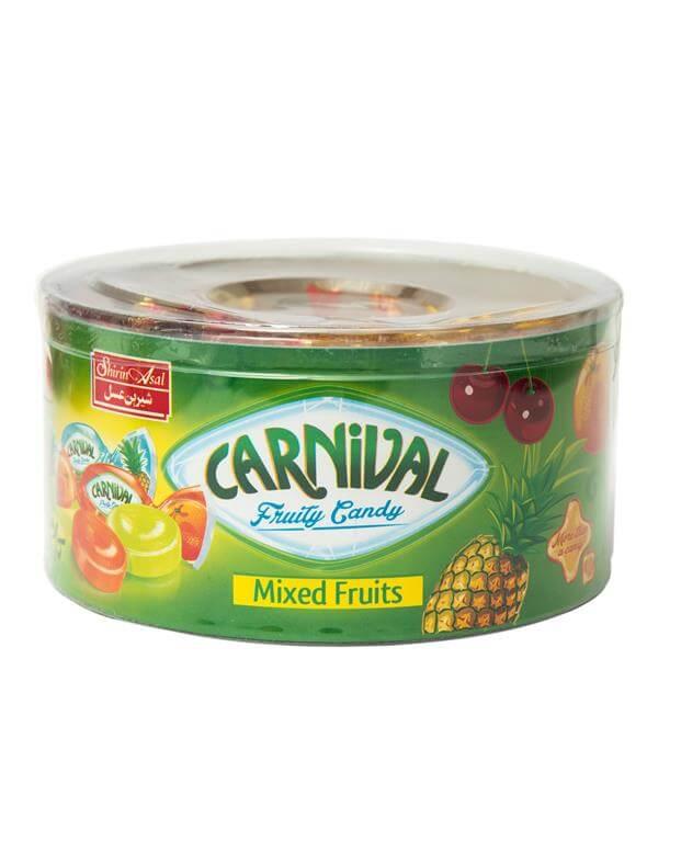 آبنبات مینی بیضی میوه ای کارناوال 200 گرمی شیرین عسل