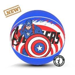 توپ بسکتبال لاستیکی سایز5(طرح کاپیتان آمریکا)