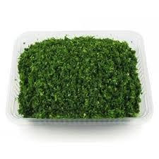 سبزی آش پاک شده و خرد شده ( نیم کیلو )