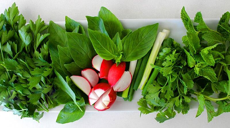 سبزی خوردن پاک شده ( 1 کیلو)