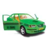ماشین بازی در باز شو ، طرح تاکسی مدل سمند (رنگ سبز و زرد)