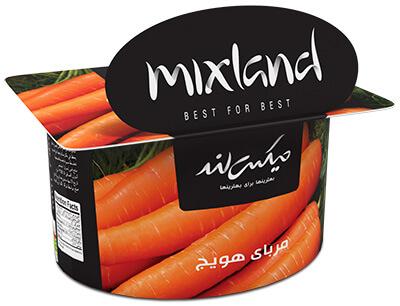 مربای هویج میکس لند