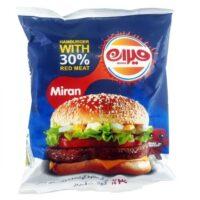 همبرگر میران 30 درصد 500 گرم