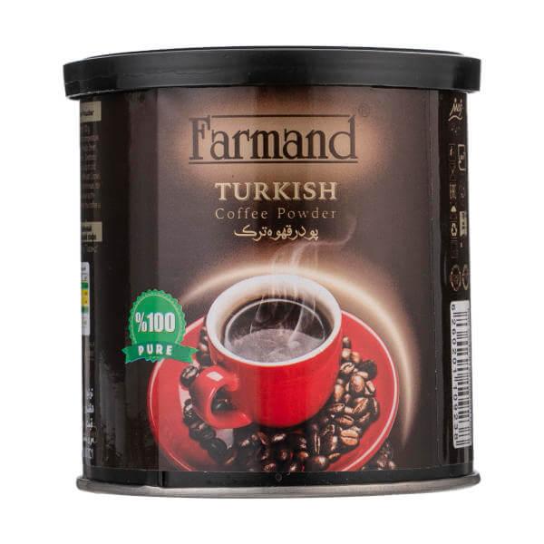 پودر قهوه ترک فرمند