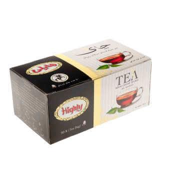 چای کیسه ای ارل گری هایلی 50 عددی