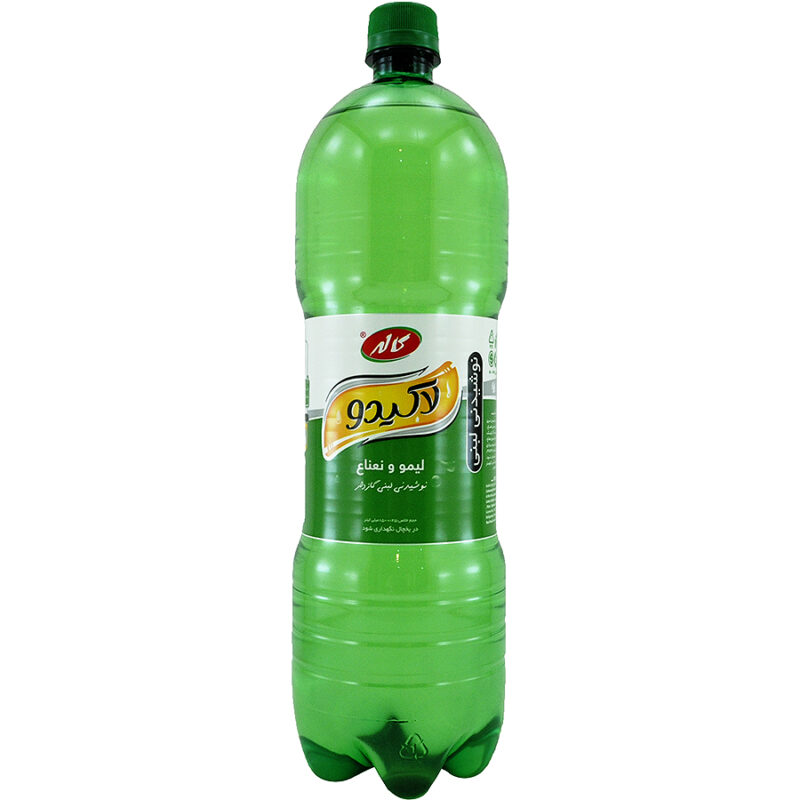 نوشابه لاکیدو لیمو و نعناع( 1.5 لیتر)