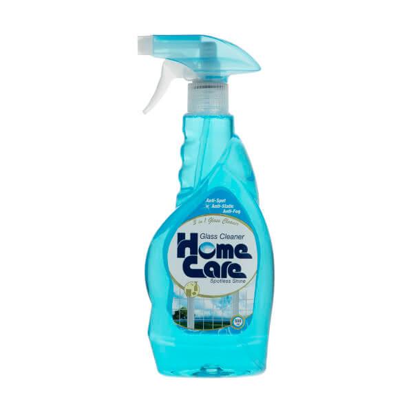 مایع شیشه پاک کن هوم کر 500 گرم آبی