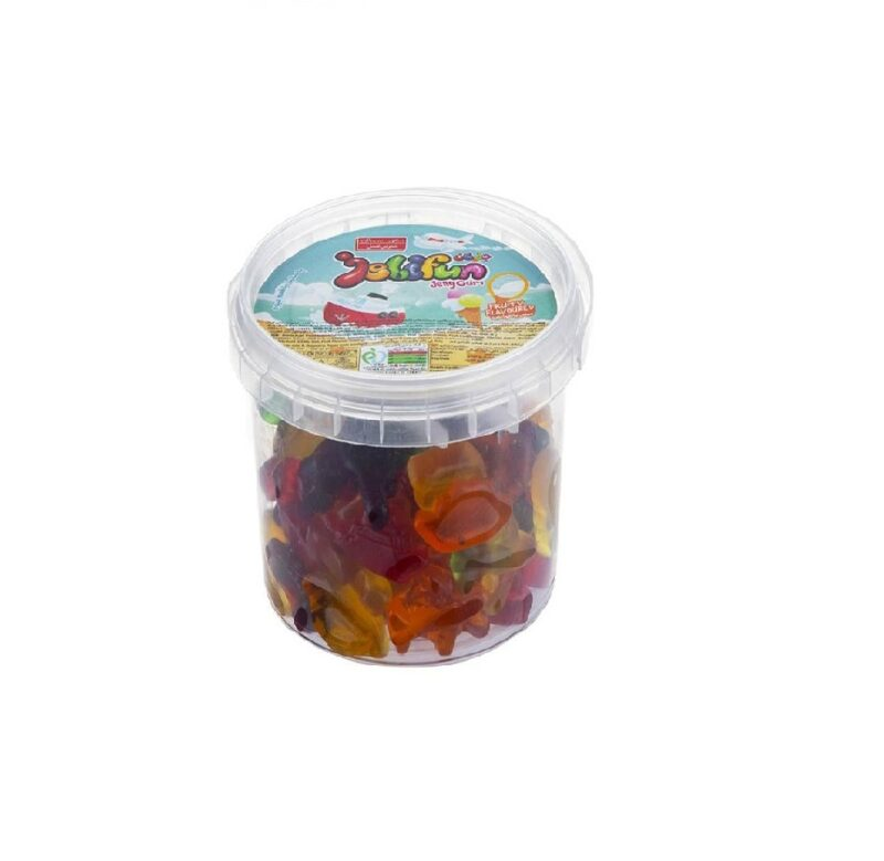 پاستیل سطلی با طعم میوه شیرین عسل 100 گرم