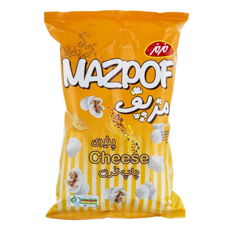 پاپ کورن پنیری مزمز