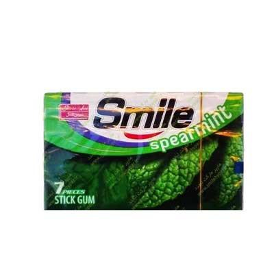 آدامس اسمایل شیرین عسل با طعم پونه سنبله ( اسپرمینت )