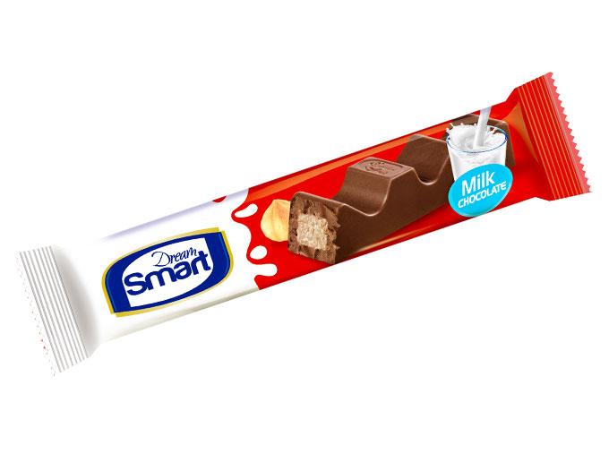 شکلات شیری شکلاتی مغزدار دریم اسمارت